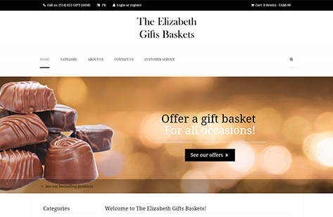 The Elizabeth Gifts Baskets